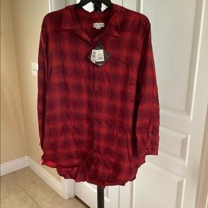 AVA & VIV Flannel Shirt